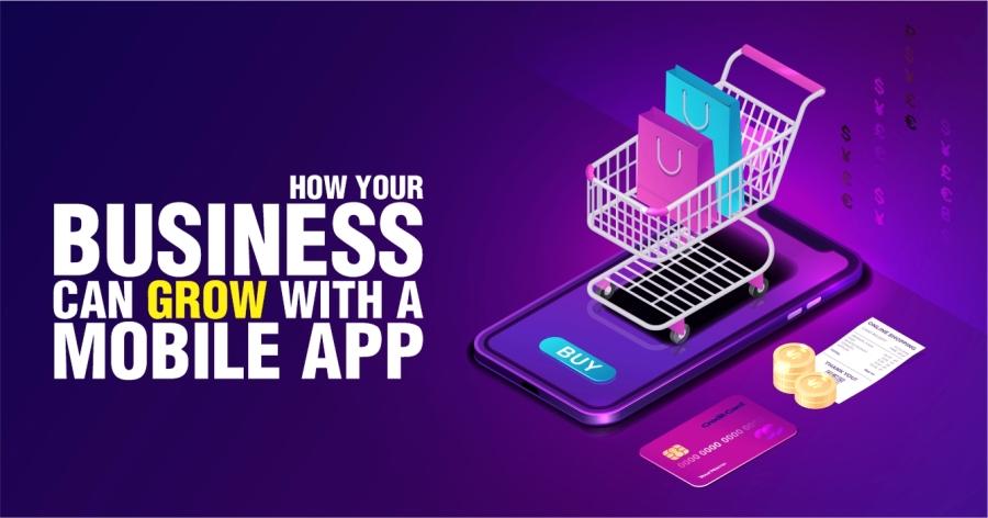 Mobile App Marketing Banner